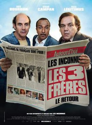 Les Trois Frères, le retour - Theatrical release poster