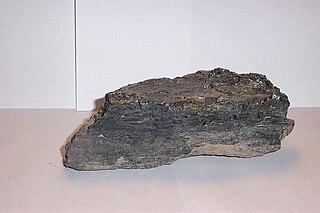 Llewellyn Formation Bedrock located in Pennsylvania