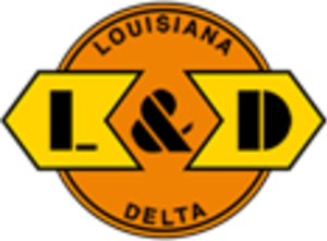 Louisiana and Delta Railroad - Image: Louisiana and Delta Railroad logo