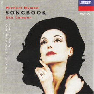 The Michael Nyman Songbook - Image: MN Songbook