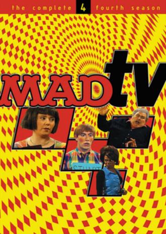 Mad TV (season 4) - DVD cover