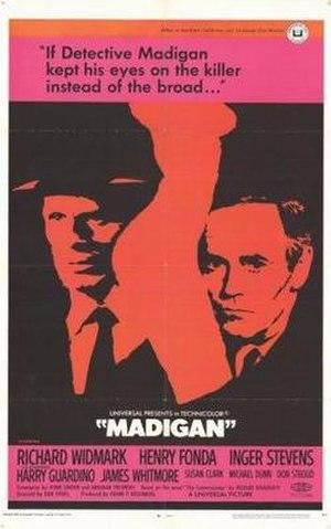 Madigan - Image: Madigan poster