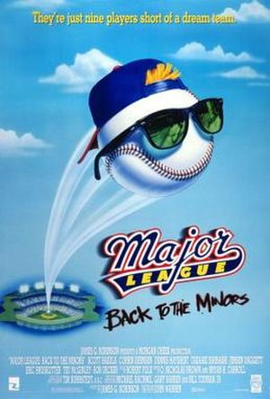 Major League: Back to the Minors - Theatrical release poster
