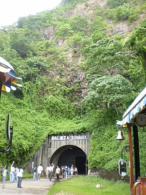 Corregidor - The entrance to Malinta Tunnel