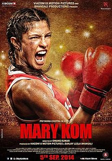 <i>Mary Kom</i> (film) 2014 Indian Hindi-language biographical sports film