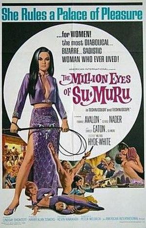 The Million Eyes of Sumuru - Original film poster by Heywood Brown