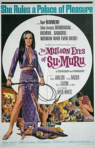 The Million Eyes of Sumuru - Theatrical release poster by Heywood Brown