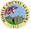 Official seal of Mobile County