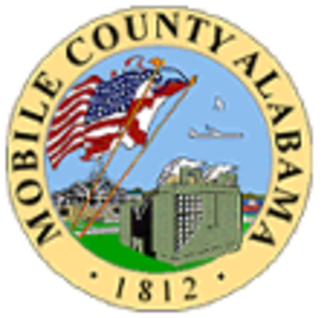 Mobile County, Alabama - Image: Mobile County al seal