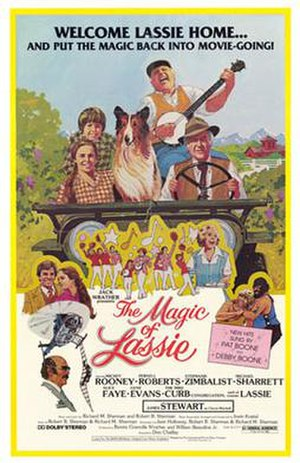 The Magic of Lassie - Theatrical release poster