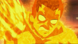 Molten Man - Molten Man as he appears in The Spectacular Spider-Man.