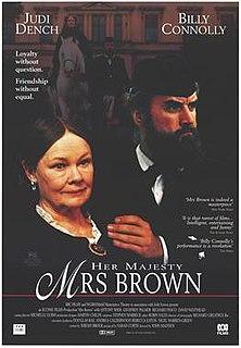 <i>Mrs Brown</i> 1997 British film directed by John Madden