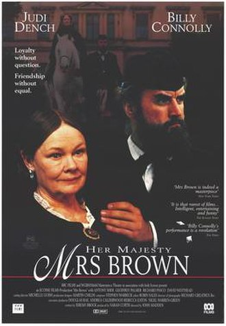Mrs Brown - UK theatrical poster