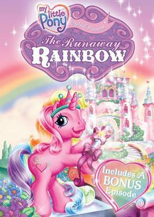 My Little Pony Crystal Princess: The Runaway Rainbow - DVD Cover for My Little Pony Crystal Princess: The Runaway Rainbow