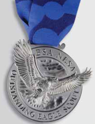 Outstanding Eagle Scout Award - Medal
