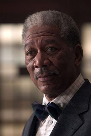 Lucius Fox - Morgan Freeman as Lucius Fox in Batman Begins (2005)