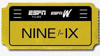 Nine for IX - Image: Nine for IX logo