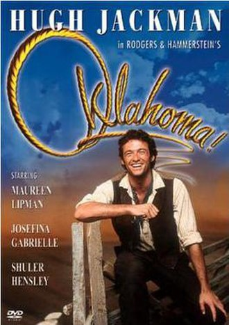 Oklahoma! (1999 film) - Image: Oklahoma! Video Cover