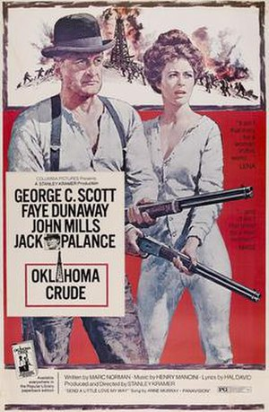 Oklahoma Crude (film) - Theatrical poster by Howard Terpning