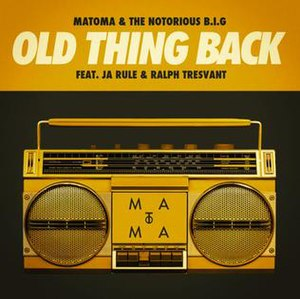 Old Thing Back - Image: Old Thing Back remix