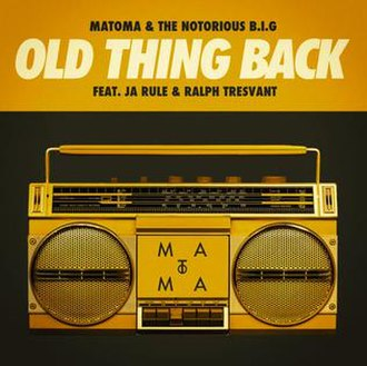 Matoma and The Notorious B.I.G. featuring Ja Rule and Ralph Tresvant — Old Thing Back (studio acapella)