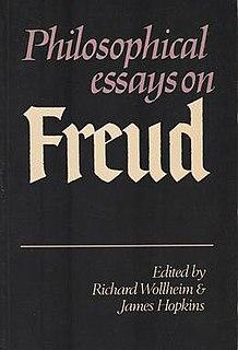 <i>Philosophical Essays on Freud</i> 1982 book edited by Richard Wollheim and James Hopkins