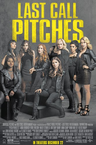 Pitch Perfect (film series) - Image: Pitch Perfect 3