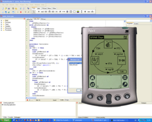 PocketStudio - PocketStudio with Palm OS Emulator