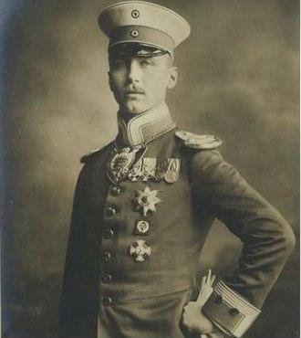 Prince Oskar of Prussia - Image: Prince Oskar of Prussia 1888 1958