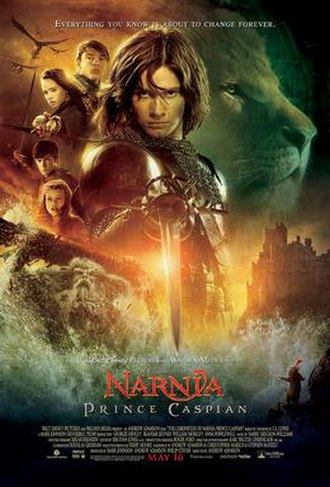 The Chronicles of Narnia: Prince Caspian - Theatrical release poster