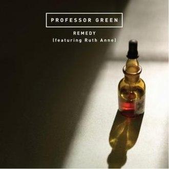 Remedy (Professor Green song) - Image: Professorgreenremedy