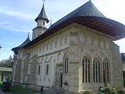 Putna Monastery, the burial site of Stephen the Great is now a famous pilgrimage place