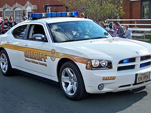 Prince William County Sheriff's Office - Prince William County Sheriff's Dodge Charger