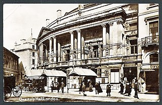 Queens Hall Former concert hall in Langham Place, London (1893-1941)