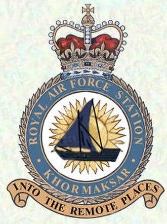 RAF Khormaksar - Image: RAF Khormaksar Crest