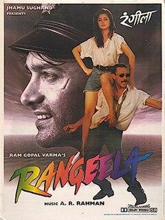 <i>Rangeela</i> (1995 film) 1995 film by Ram Gopal Varma