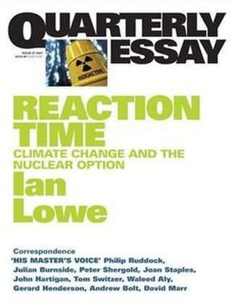Reaction Time (book) - Image: Reaction Time Climate Change and the Nuclear Option
