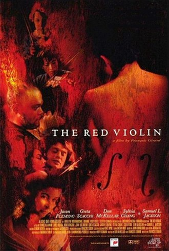 The Red Violin - Theatrical release poster
