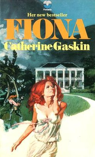 Renato Fratini - A typical historical romance cover by Fratini. Fiona by Catherine Gaskin, Fontana, 1972.