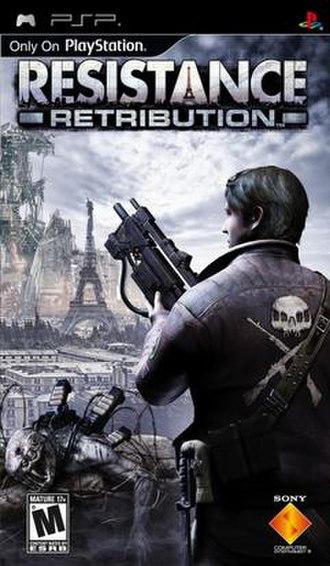 Resistance: Retribution - Image: Resistance Retribution PSPNA Cover