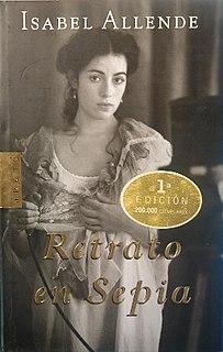 <i>Portrait in Sepia</i> book