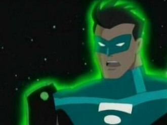 Green Lantern in other media - Kyle Rayner in the Justice League Unlimited series