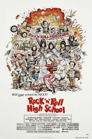 Rock 'n' Roll High School - Image: Rock 'n' Roll High School Poster