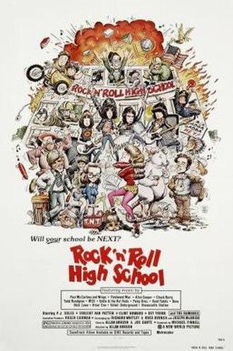 Rock 'n' Roll High School - Image: Rock 'n' Roll High School Poster