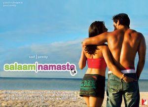 Salaam Namaste - Movie poster for Salaam Namaste