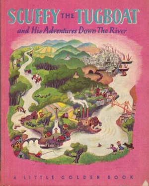 Scuffy the Tugboat - First edition