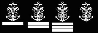 Sea Scouting (Boy Scouts of America) - Sea Scout ranks: Apprentice, Ordinary, Able, Quartermaster