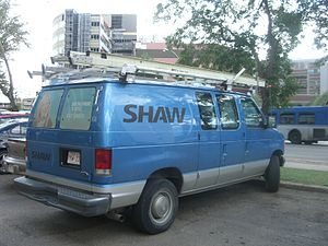 Shaw Communications - Image: Shaw truck 4548
