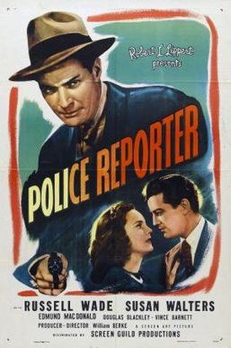 Shoot to Kill (1947 film) - Theatrical release poster