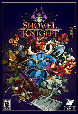 Shovel Knight - Image: Shovel knight cover